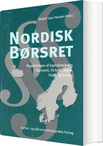 Image of   Nordisk Børsret - Hansen J - Bog