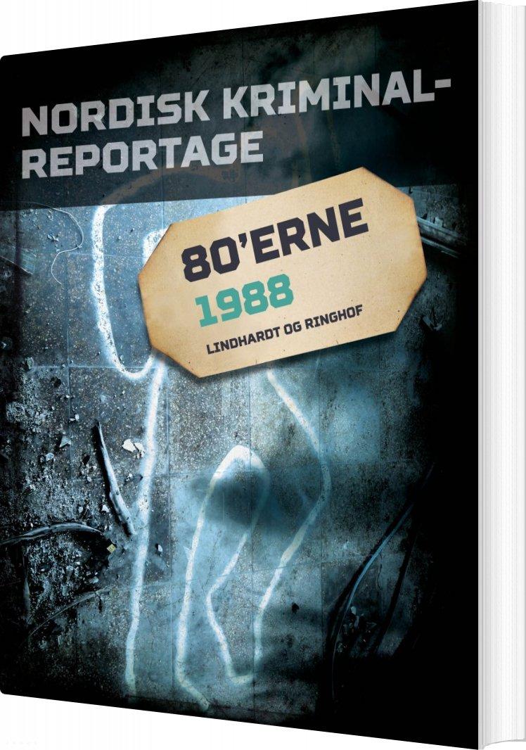 Image of   Nordisk Kriminalreportage 1988 - Diverse - Bog