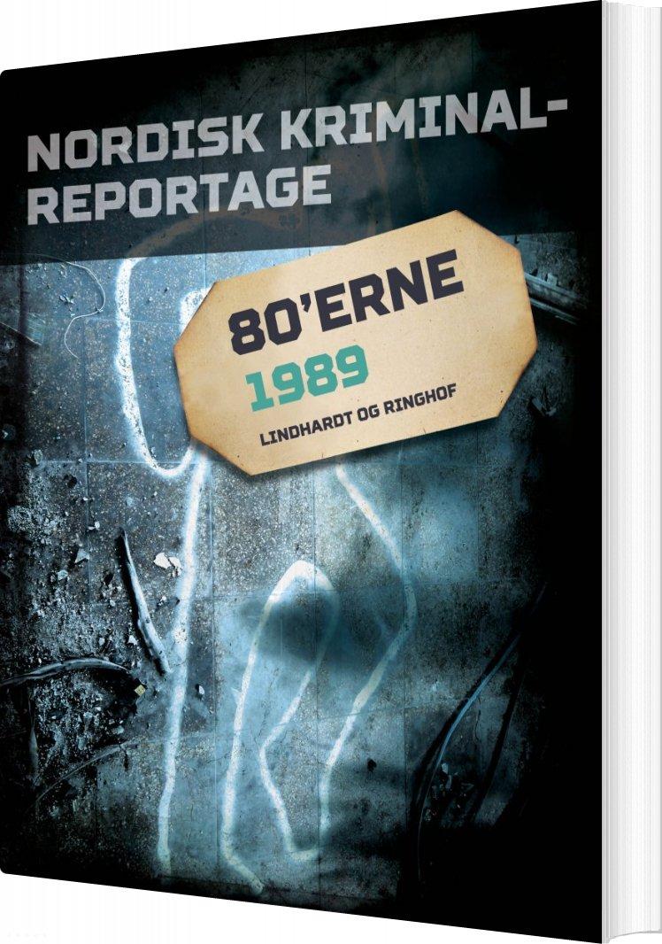 Image of   Nordisk Kriminalreportage 1989 - Diverse - Bog