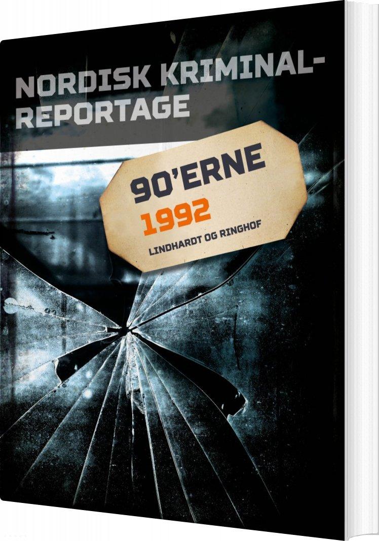 Image of   Nordisk Kriminalreportage 1992 - Diverse - Bog