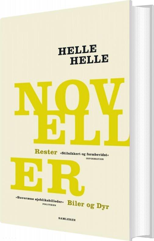 Image of   Noveller - Helle Helle - Bog