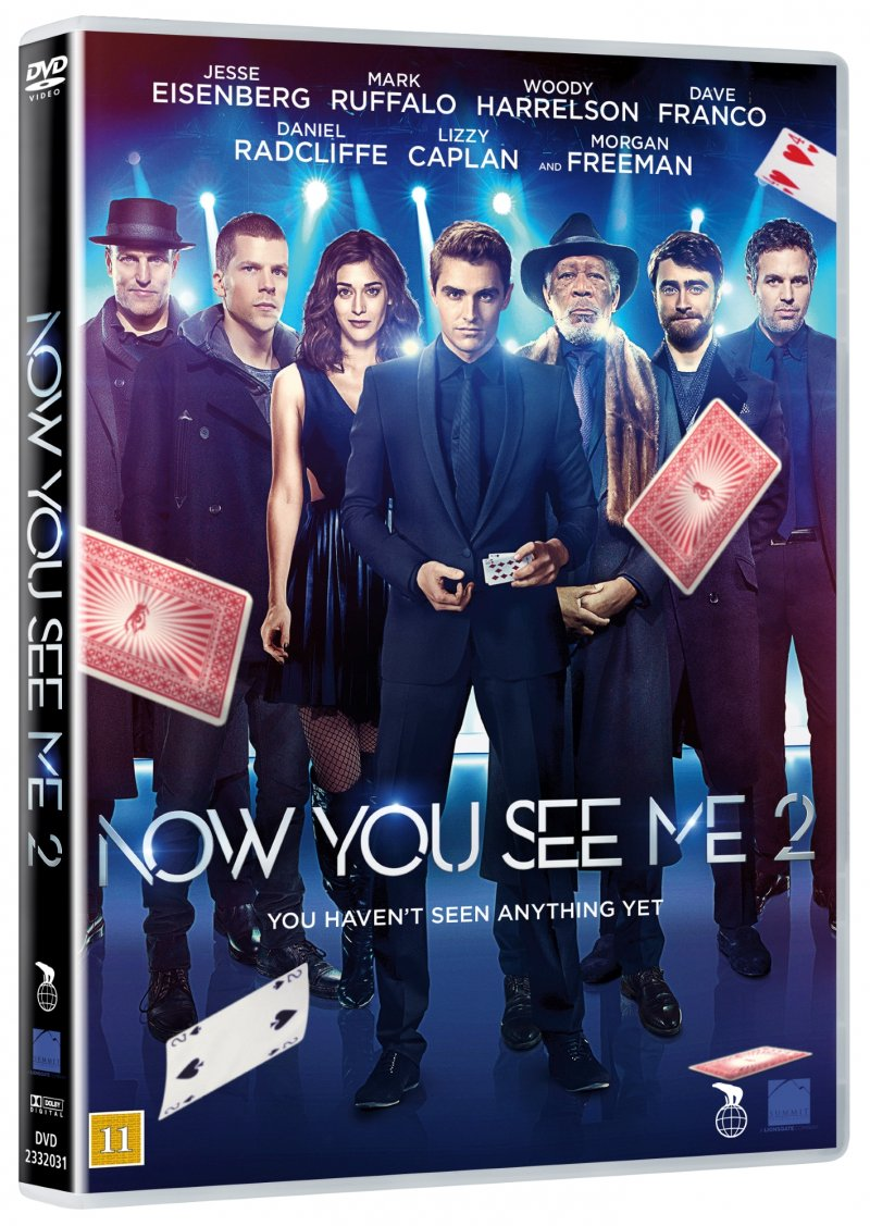 Image of   Now You See Me 2: The Second Act - DVD - Film