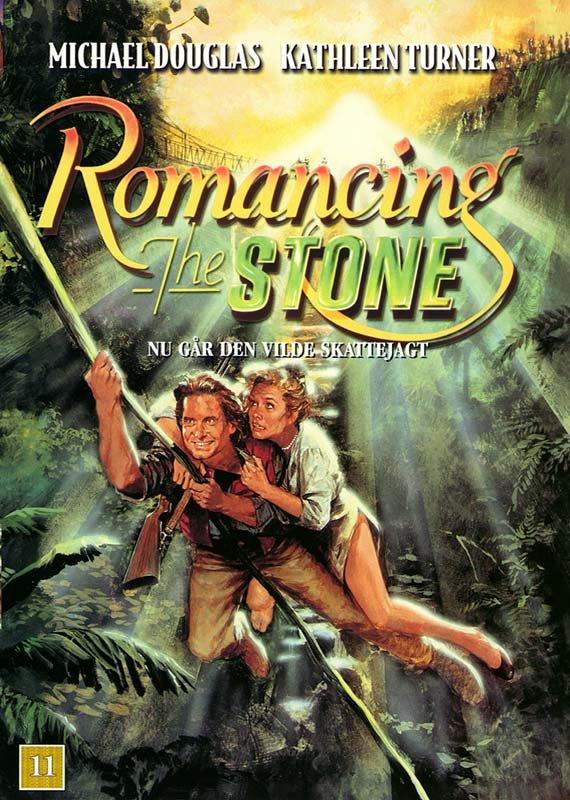 Billede af Nu Går Den Vilde Skattejagt / Romancing The Stone - DVD - Film