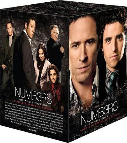 Numbers - Den Komplette Serie - DVD - Tv-serie