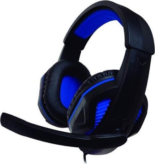 Image of   Nuwa St10 - Over-ear Gaming Headset Med Mikrofon Til Ps4 Xbox - Blå
