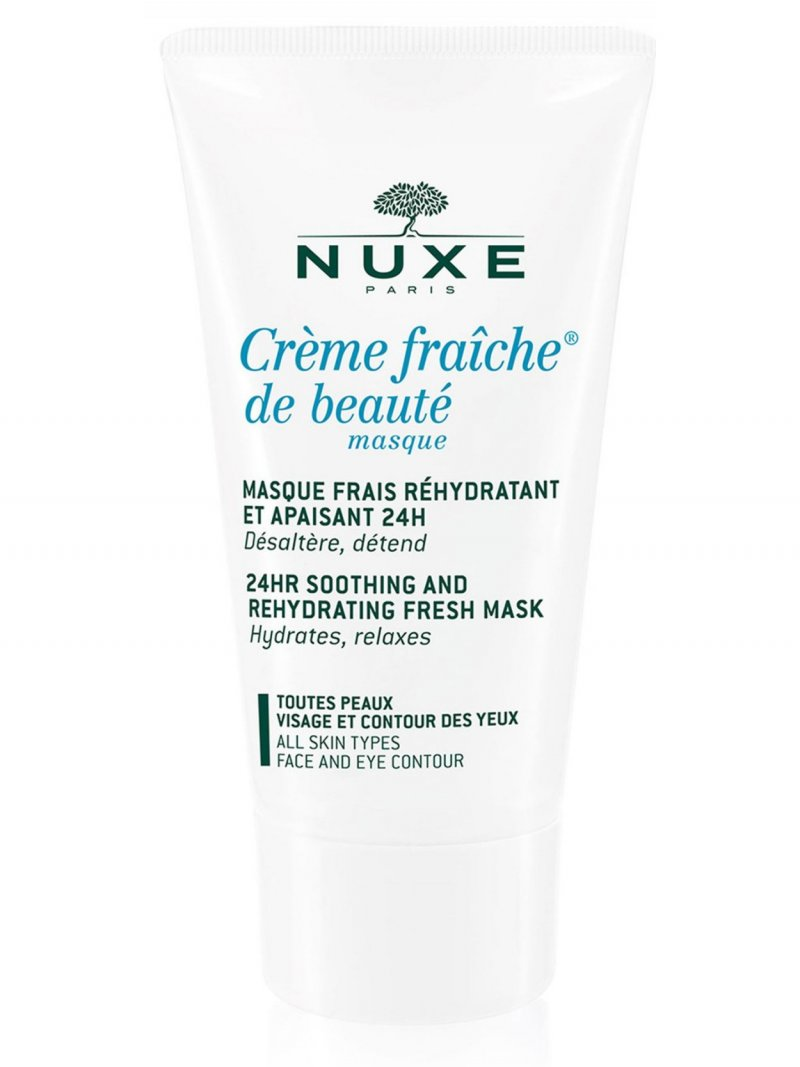 Image of   Nuxe - Masque Crème Fraîche De Beaute Moisturizing And Soothing Refreshing Mask 50 Ml