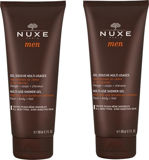 Image of   Nuxe Men Multi-use Shower Gel - 2 X 200 Ml.