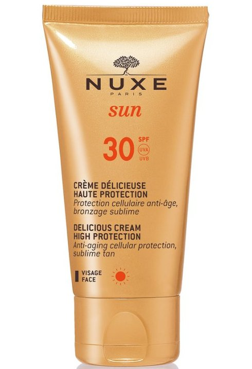 Image of   Nuxe Solcreme - Delicious Solcreme Til Ansigt Spf 30 - 50 Ml