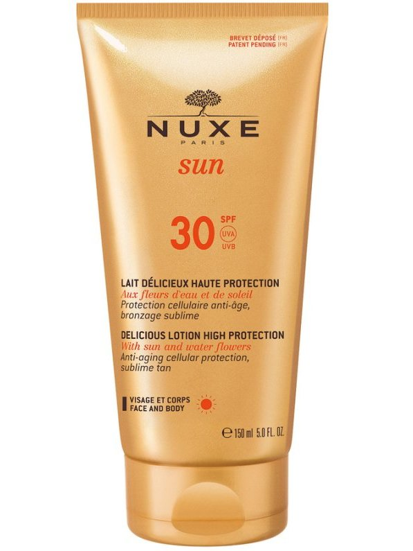 Image of   Nuxe Sun Delicious Lotion Face & Body Spf 30 - 150 Ml.