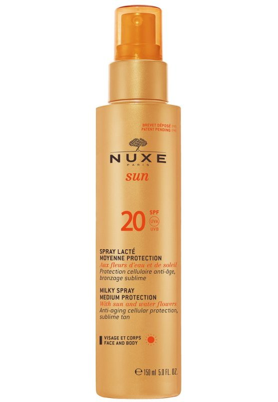 Image of   Nuxe Sun Milky Spray Solcreme Spf 20 - 150 Ml.