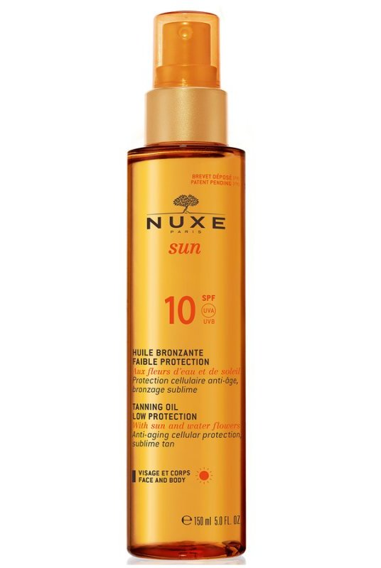 Image of   Nuxe Sun Tanning Oil Spf 10 - 150 Ml.