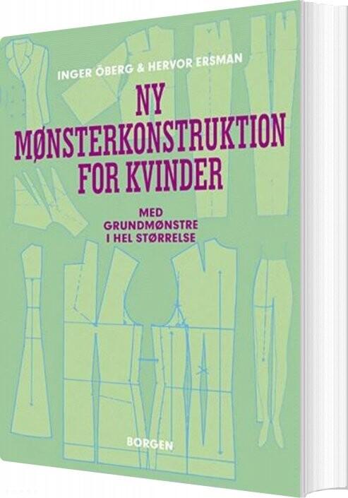 Image of   Ny Mønsterkonstruktion For Kvinder - Inger öberg - Bog