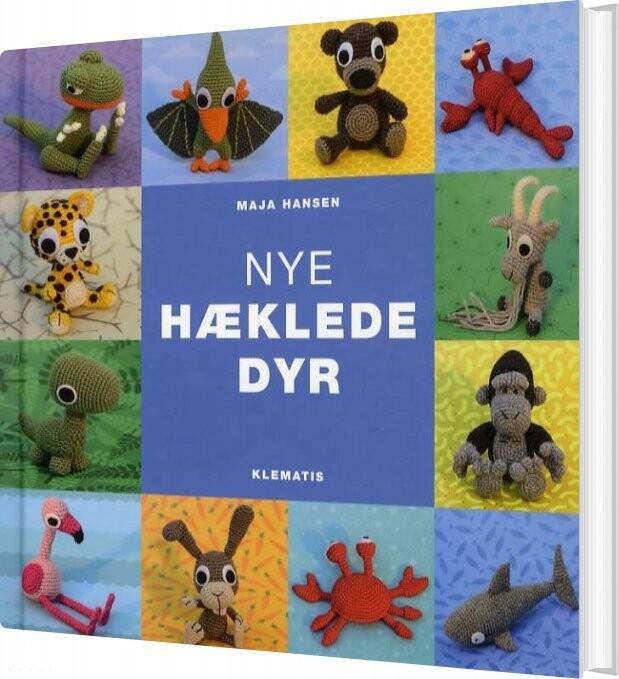 Image of   Nye Hæklede Dyr - Maja Hansen - Bog