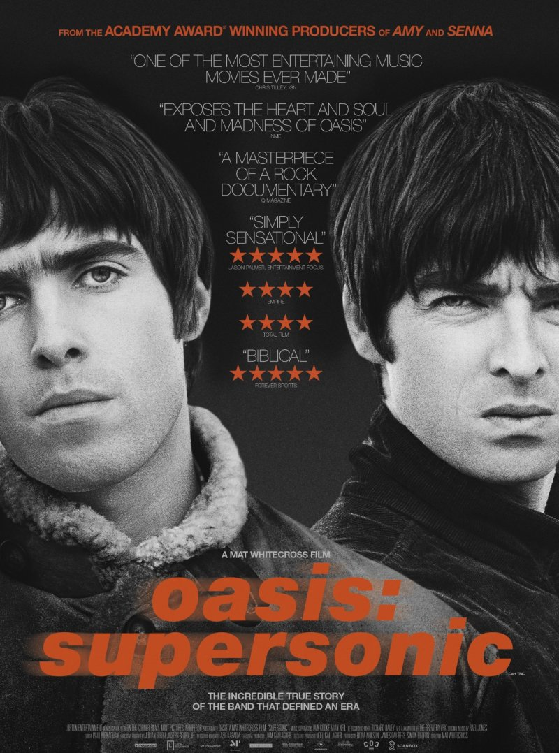 Image of   Oasis: Supersonic - Blu-Ray