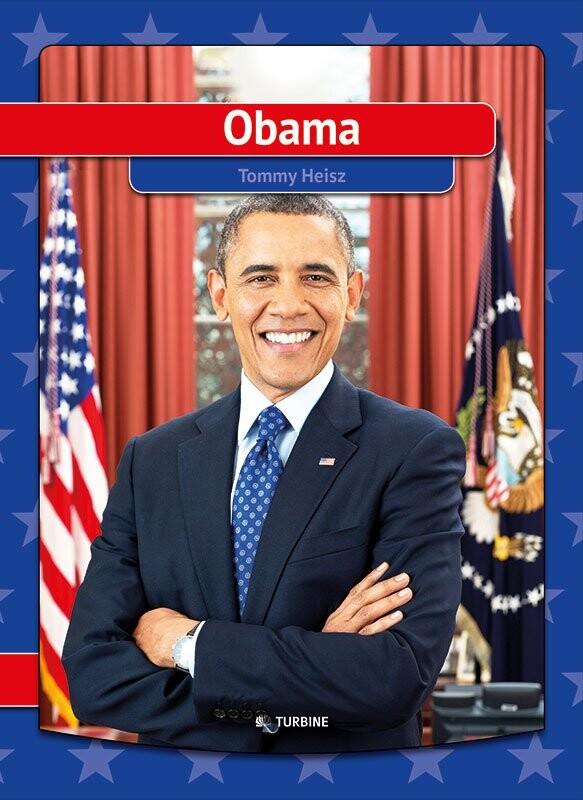 Image of   Barack Obama Biografi - Tommy Heisz - Bog
