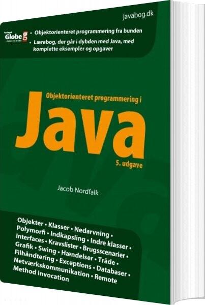 Billede af Objektorienteret Programmering I Java - Jacob Nordfalk - Bog