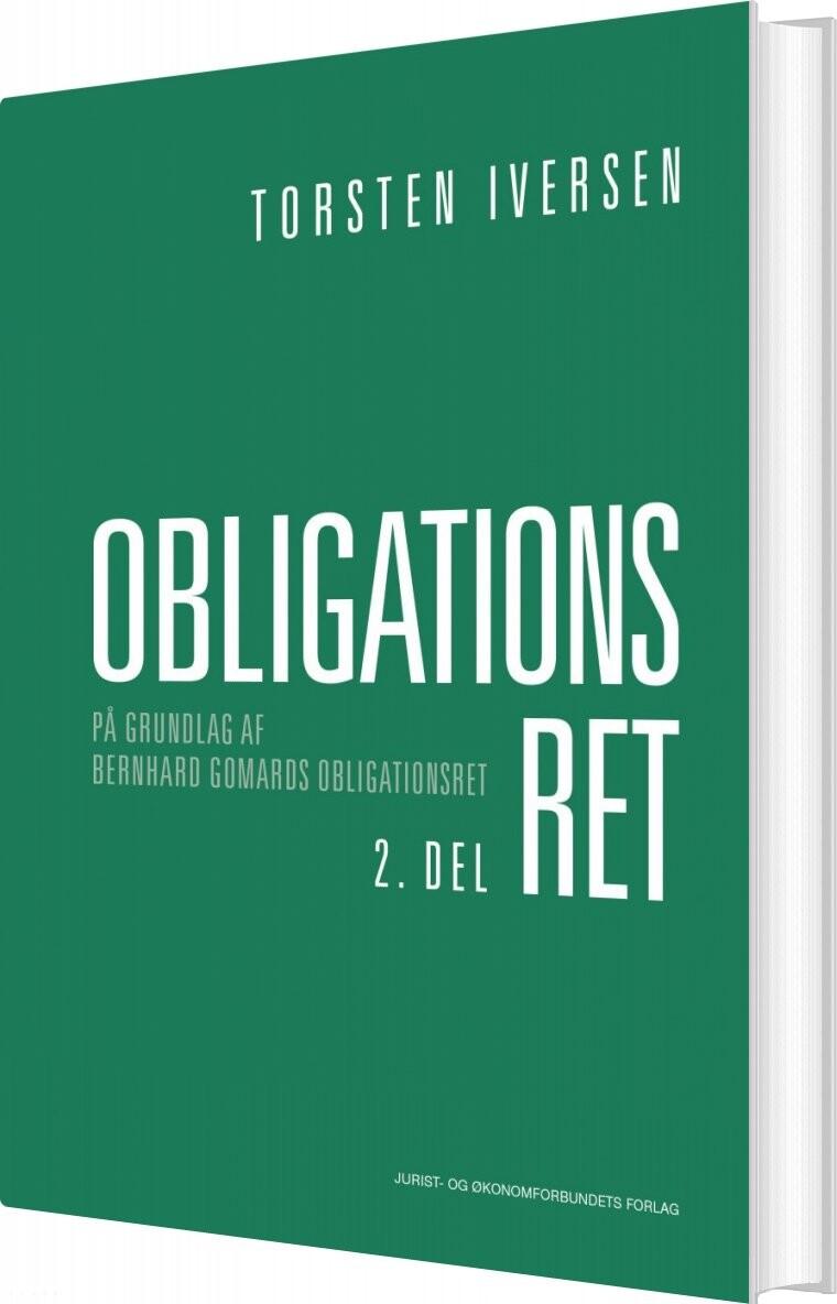 Image of   Obligationsret 2. Del - Torsten Iversen - Bog