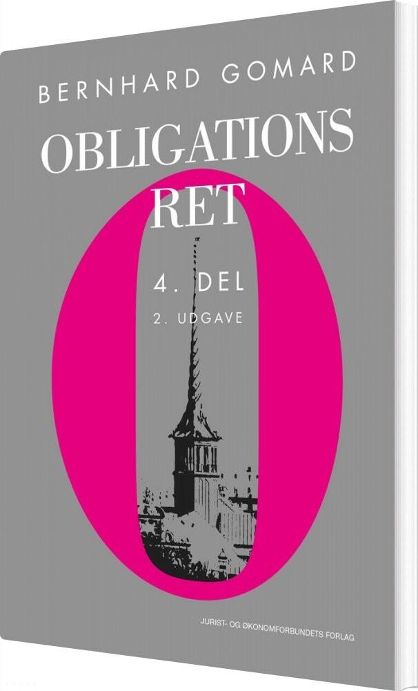 Obligationsret 4. Del - Bernhard Gomard - Bog