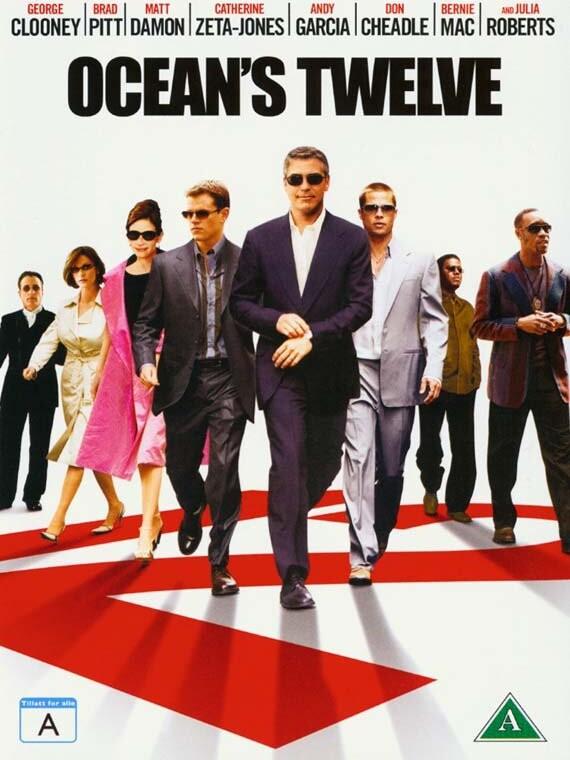 Image of   Oceans 12 / Twelve - DVD - Film