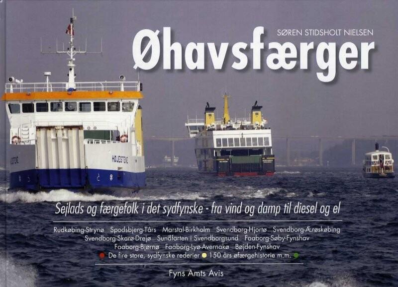 Image of   øhavsfærger - Søren Stidsholt Nielsen - Bog