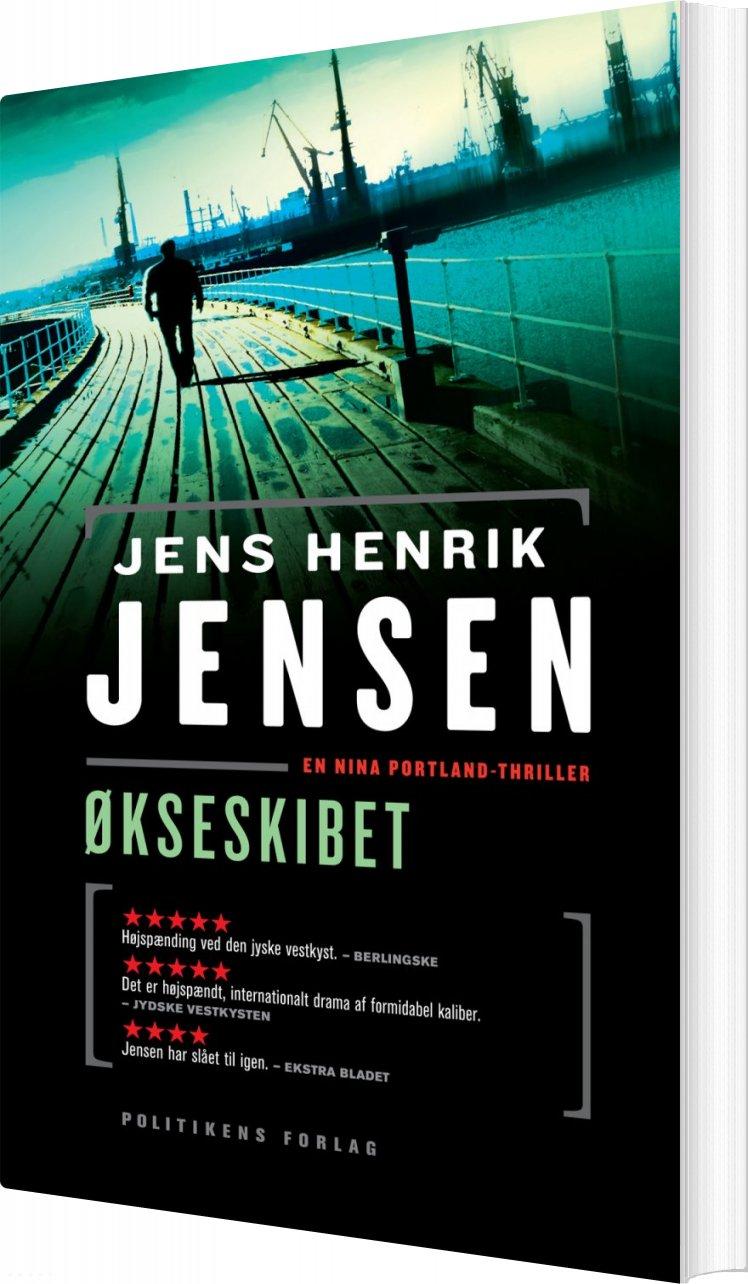 Image of   økseskibet - Jens Henrik Jensen - Bog