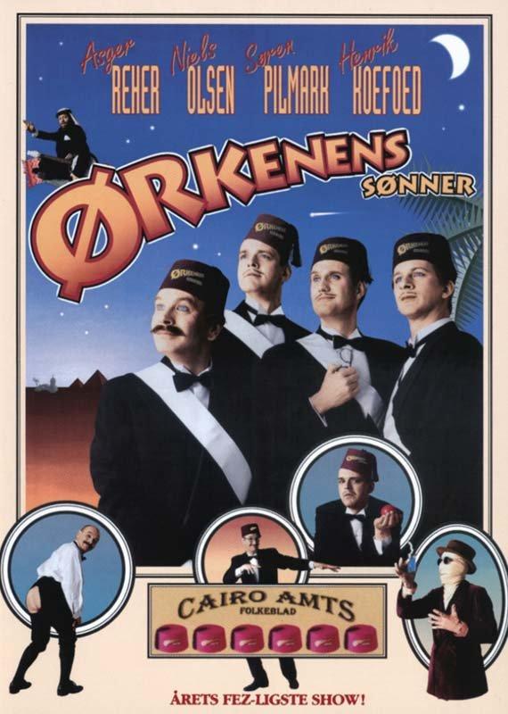 Image of   ørkenens Sønner - DVD - Film
