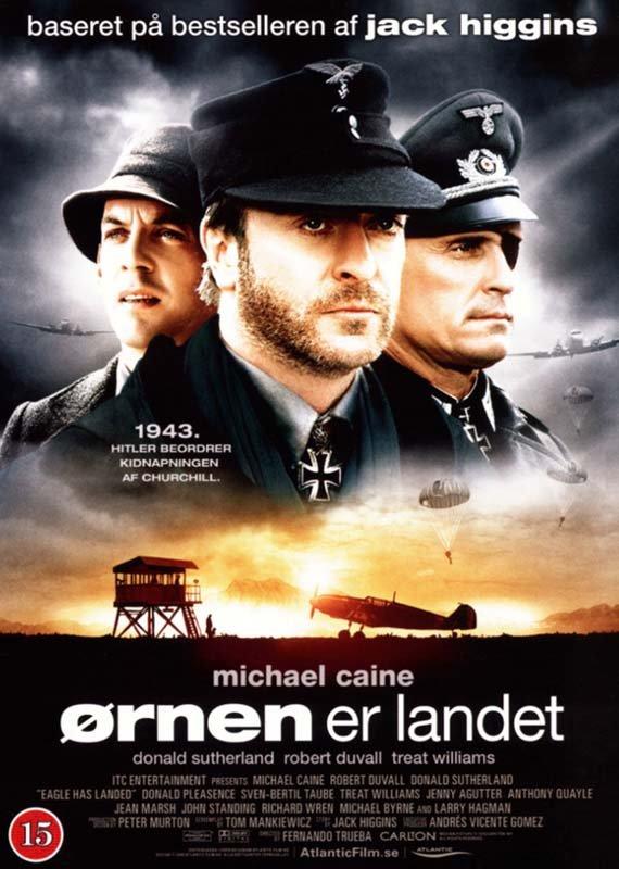 Image of   The Eagle Has Landed / ørnen Er Landet - DVD - Film