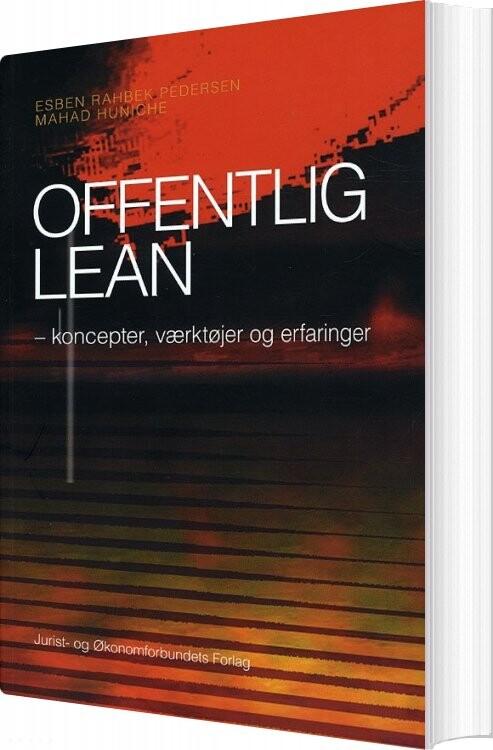 Image of   Offentlig Lean - Esben Rahbek Pedersen - Bog