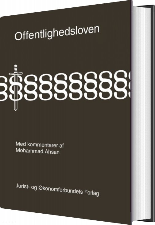 Image of   Offentlighedsloven Med Kommentarer - Mohammed Ahsan - Bog