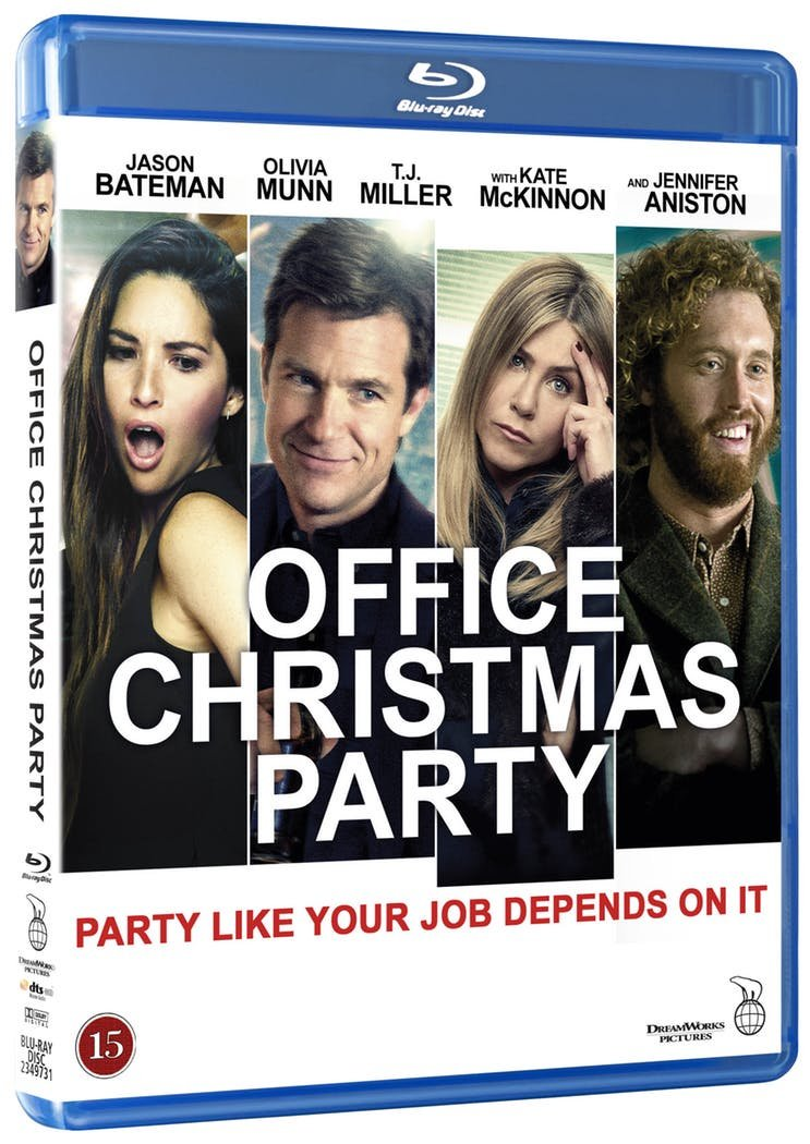 Image of   Office Christmas Party - Blu-Ray