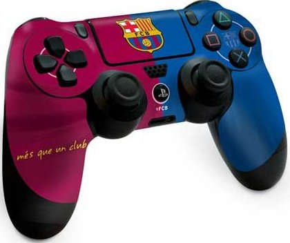 Image of   Playstation 4 Controller Skin - Fc Barcalona