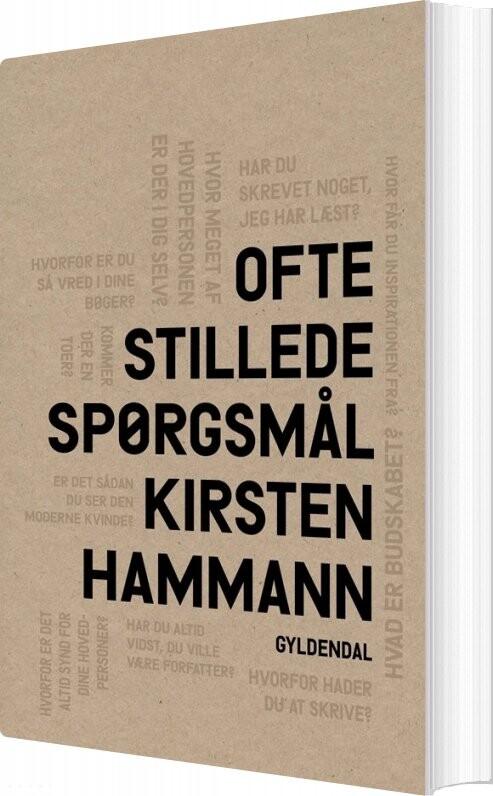 Ofte Stillede Spørgsmål - Kirsten Hammann - Bog
