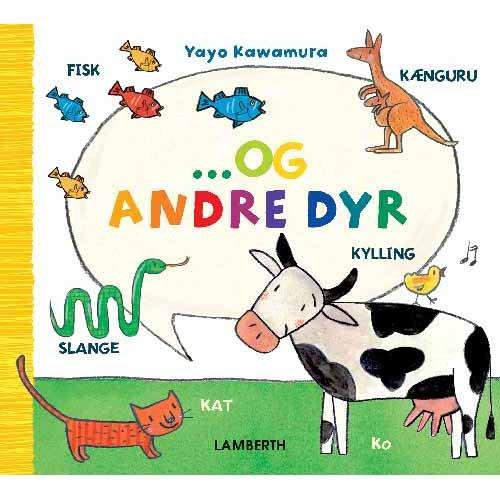 Image of   Og Andre Dyr - Yayo Kawamura - Bog