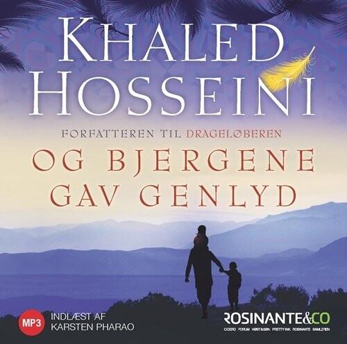 Image of   Og Bjergene Gav Genlyd - Khaled Hosseini - Cd Lydbog