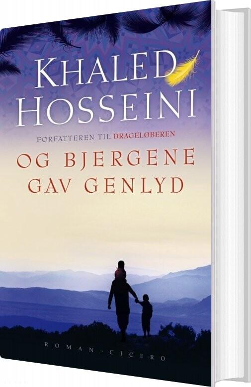 Og Bjergene Gav Genlyd - Khaled Hosseini - Bog