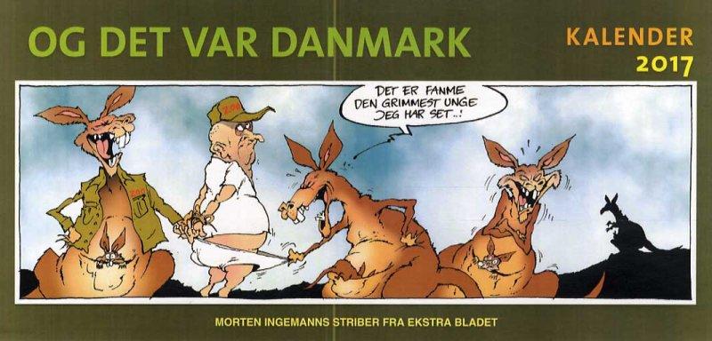 Image of   Og Det Var Danmark Kalender 2017