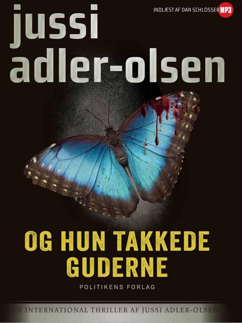 Image of   Og Hun Takkede Guderne - Mp3 - Jussi Adler-olsen - Cd Lydbog