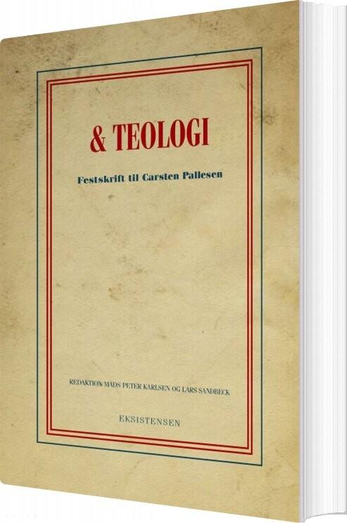 Image of   Og Teologi - Lars Sandbeck - Bog
