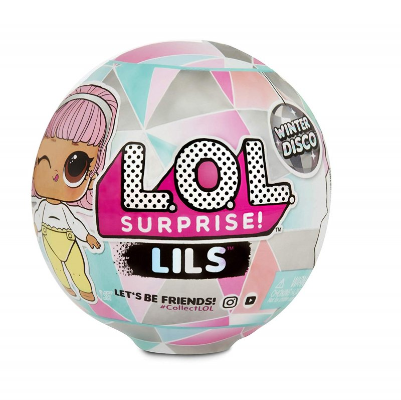 Image of L.o.l. Surprise Dukker - Lil Sisters Og Lil Pets Winter Disco