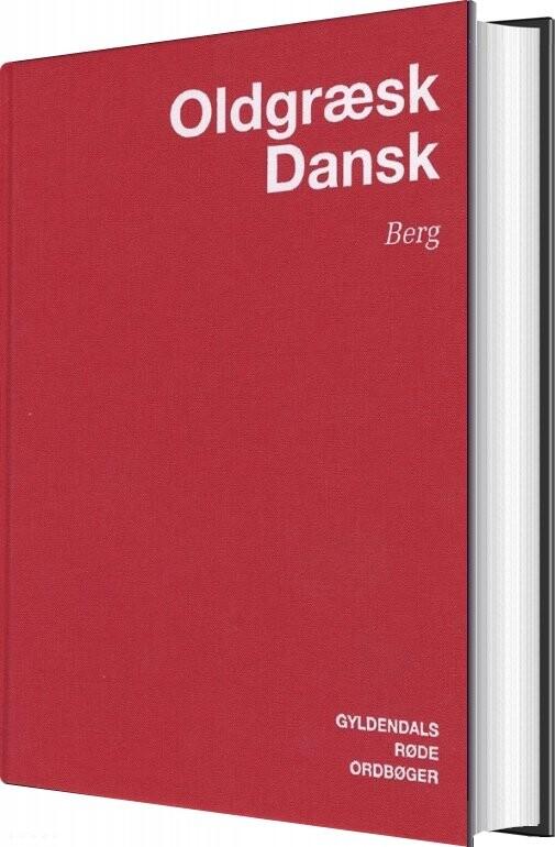 Image of   Oldgræsk-dansk Ordbog - Carl Berg - Bog