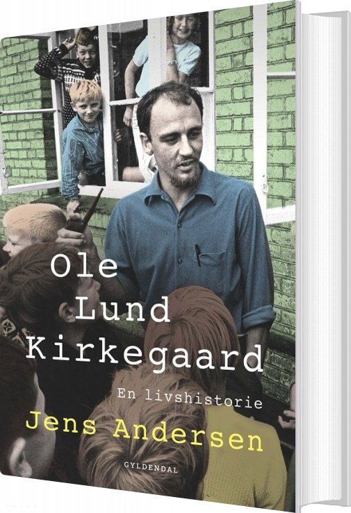 Image of   Ole Lund Kirkegaard Biografi - Jens Andersen - Bog