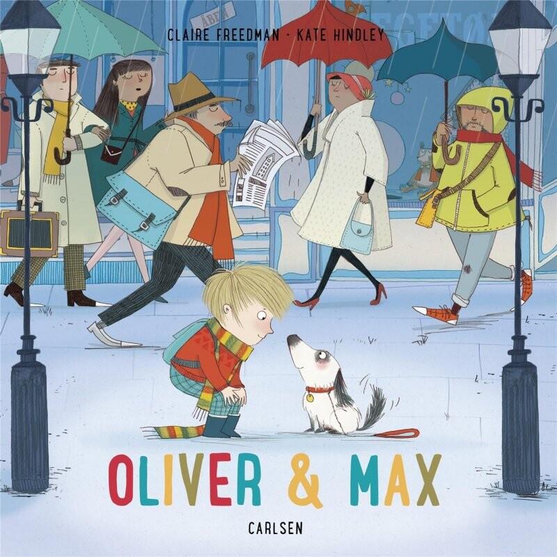 Oliver & Max - Claire Freedman - Bog