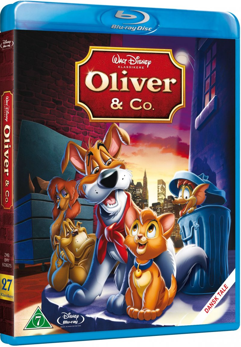 Image of   Oliver Og Co - Disney - Blu-Ray
