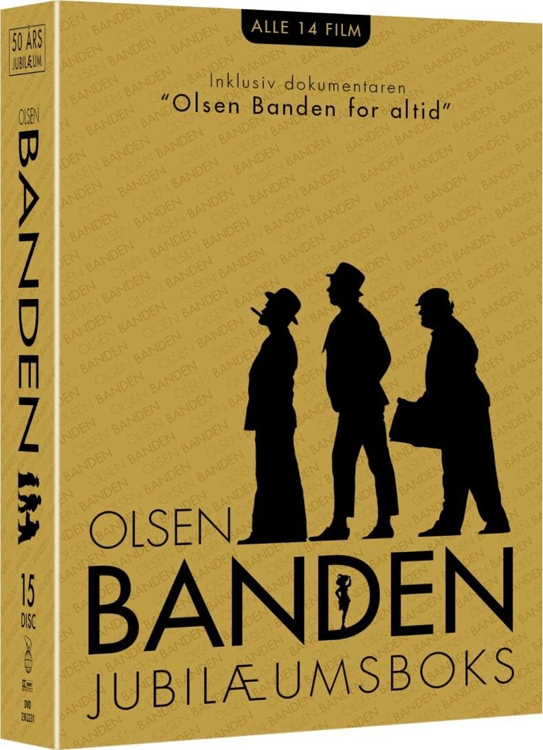 Image of   Olsen Banden Box - 50 års Jubilæum - DVD - Film