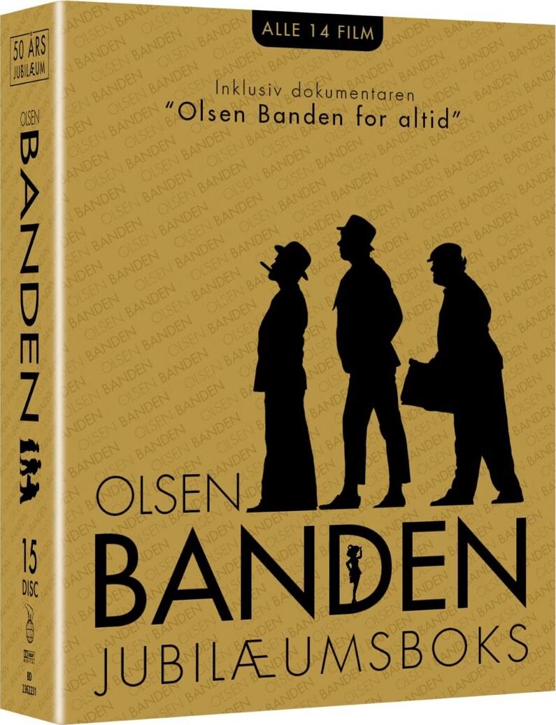 Image of   Olsen Banden Box - 50 års Jubilæum - Blu-Ray