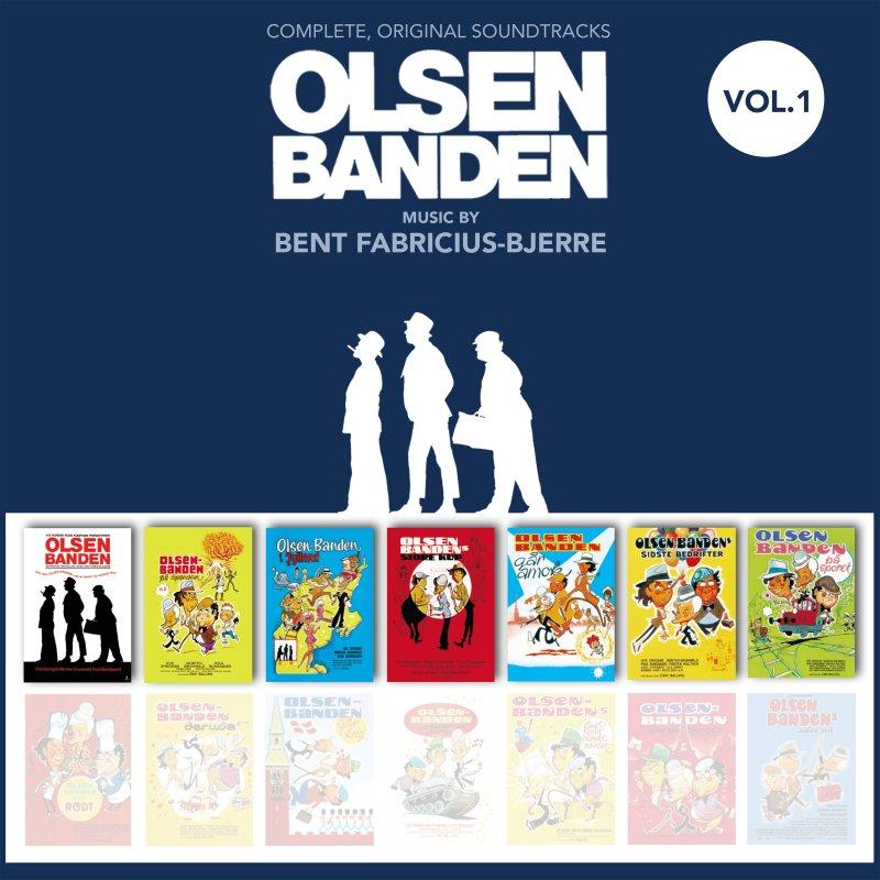 Image of   Olsen Banden Soundtrack - Musikken Fra De 7 Første Film - CD