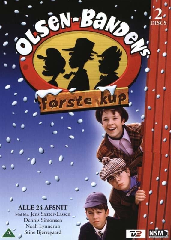 Olsen Bandens Første Kup - Julekalender - Afsnit 1-24 - DVD - Tv-serie