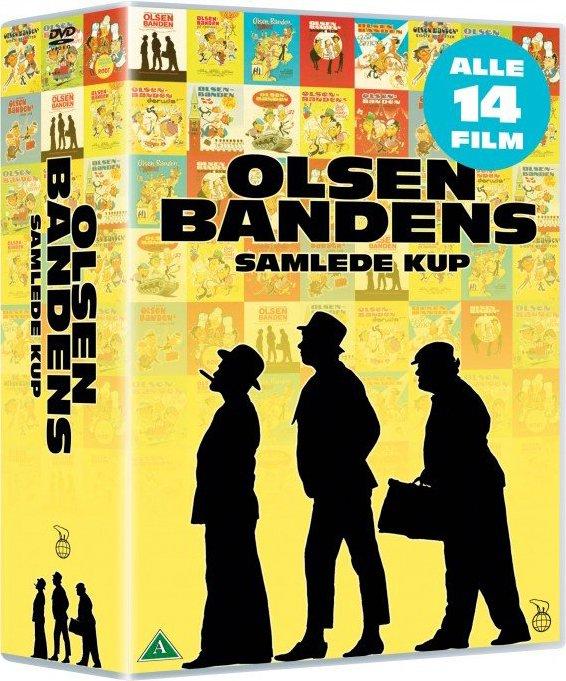 Billede af Olsen Banden Dvd Boks - DVD - Film