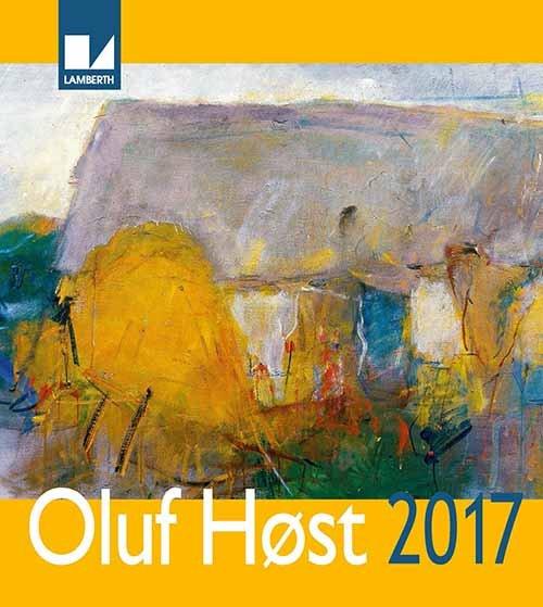 Image of   Oluf Høst Kalender 2017