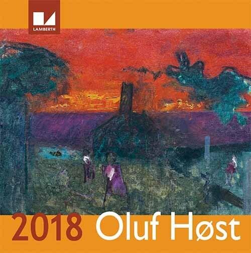Image of   Oluf Høst Kalender 2018